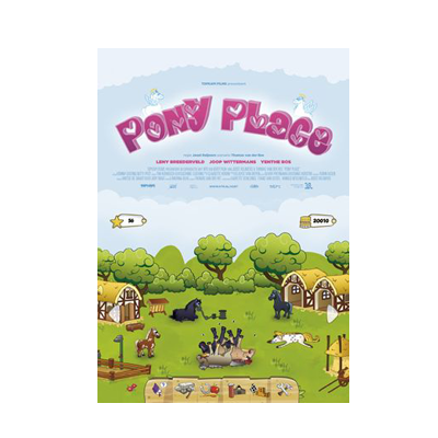 Pony Place DVD cover