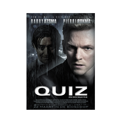 Quiz DVD cover